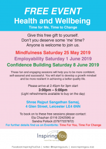 Time for me, Time for Change flyer (1)